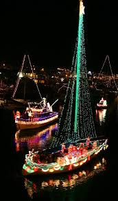 palm harbor christmas lights lighted boat christmas parade santa cruz harbor california http