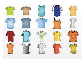t shirt template free vector art 9157 free downloads