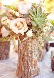 rustic wedding centerpieces weddingmix blog