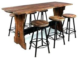 rectangle pub table sets pub tables and chairs glossy black rectangular pub table with four