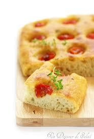 histoire de la cuisine italienne focaccia pugliese aux pommes de terre et tomates de cuisine