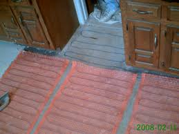 Heated Bathroom Floors Installing Heated Flooring Under Bathroom Tile Confessions Of A