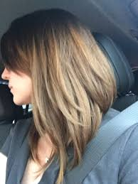 haircuts for shorter in back longer in front long bob short in back long in front by sara g at novak salon