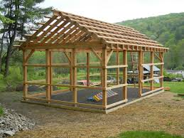 How To Build A Pole Barn Shed Roof by Timber Frame Shed Things To Build Pinterest Beams Cabin And