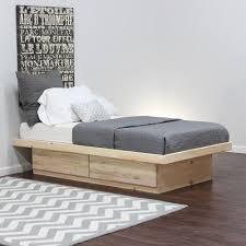 bedroom flat platform frame king upholstered without headboard