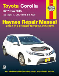 products of toyota company toyota corolla 07 15 haynes repair manual haynes manuals