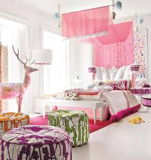 bedroom impressive gorgeous little girls ideas with pink curtain