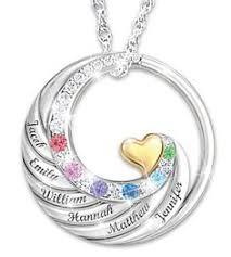 mothers pendants with birthstones birthstone family tree necklace with names family tree necklace