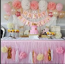 bridal shower party supplies qian s party baby pink gold white baby shower decorations for girl