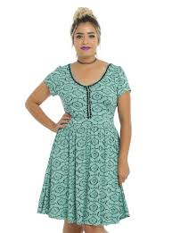 the nightmare before birdcage back dress plus size