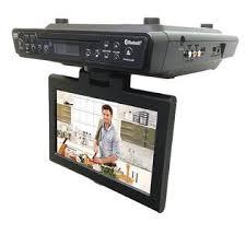 Kitchen Televisions Under Cabinet Sylvania Curskcr2706bt Skcr2706bt 10 2