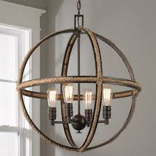 Two Golden Rings Bead Chandelier Rustic Wooden U0026 Wrought Iron Chandeliers Shades Of Light