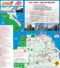 San Fran Bart Map by California San Francisco Hop On Hop Off Bus Tour Travel 50