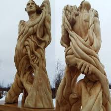 wood sculpture decor interior wood sculpture metamorphosis 2015 symbolism sculpture