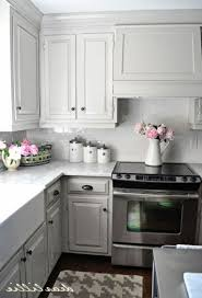 small kitchen grey cabinets 50 outstanding kitchen backsplash ideas gray cabinets