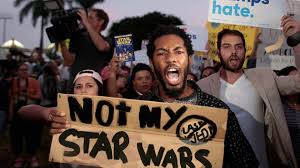 what to get a star wars fan breaking news protesters calling themselves true star wars fans