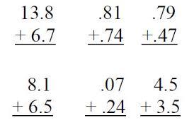 copy of copy of adding u0026 subtracting decimals lessons tes teach