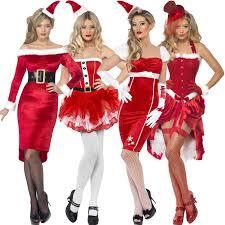 50s pin up halloween costumes ladies womens new christmas santa pinup fancy dress