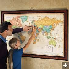 us map framed framed magnetic us map thempfa org