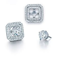 diamond earring jackets earring jackets with diamond schwanke kasten jewelers