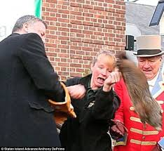 punxsutawney phil 6 more weeks of winter on groundhog day daily