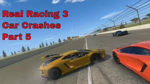 real racing 3 video game funny car crashes compilation part 5 yt