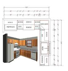 u shaped kitchen floor plan 8x10 u shaped kitchen layout google search for the home