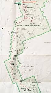 Arizona Maps by Best 20 Bryce Canyon Map Ideas On Pinterest Grand National 2016
