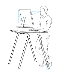 proper standing desk posture active family chiropractic pc news and articles archives active