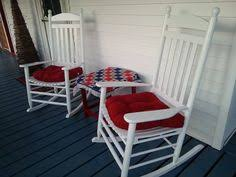these black rocking chairs make perfect porch rockers rocking