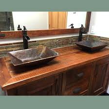 copper vessel sinks ebay copper vessel sinks copper vessel sinks unique bathroom sinks