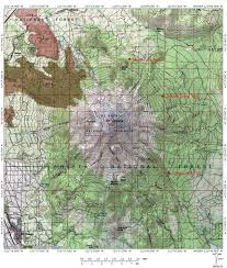 China Camp Trail Map by North Gate Trail Hike Mt Shasta