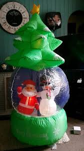 Outdoor Christmas Decorations Gumtree by Inflatable Father Christmas Snow Globe In Morriston Swansea