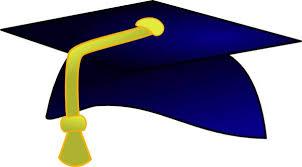 blue graduation cap graduation cap blue clipart 2 clipartix
