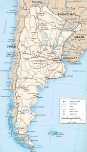 Geographical Map Of South America by South America Map