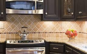 Mediterranean Kitchen Tiles - kitchen extraordinary tumbled stone kitchen backsplash