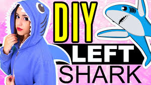 Shark Costume Halloween Diy Minute Left Shark Halloween Costume Rosaliesaysrawr