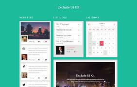 web templates website templates directory listing website theme exclude ui kit a flat bootstrap responsive web template