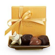 gold ribbon chocolate gold favor gold ribbon 4 pc godiva