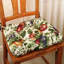 Kitchen Chair Ideas Country Kitchen Chair Cushions With Ties Cushions Decoration