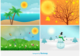 Four Seasons Landscaping by Four Seasons Landscape Illustrations Download Free Vector Art