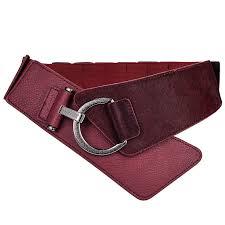 bow belts wide belts for dresses new fashion las women sweet chiffon elastic