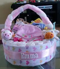 Baby Shower Gift Crafts Diaper Basket Stinkin U0027 Cute Awesome Pinterest Diapers