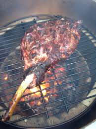 Rack Of Lamb On Grill Grilled Lamb On The Big Green Egg Caspernick U0027s Blog