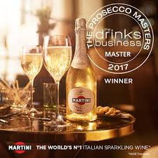 martini rosato martini vintage prosecco scores 95 at the drinks business