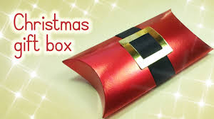 diy christmas crafts christmas gift box innova crafts youtube