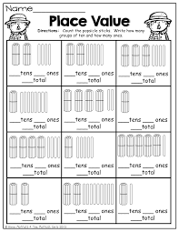 place value and tons of other fun fall printables first grade