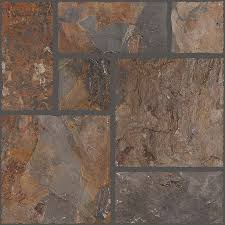 Textured Porcelain Floor Tiles Shop Floors 2000 Autumn 7 Pack Leaf Porcelain Floor And Wall Tile