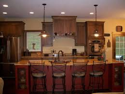 kitchen stupendous stone base bar island design using country