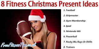 8 fitness christmas present ideas free fitness tips
